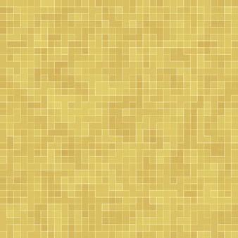Деталь абстрактной керамической мозаики текстуры mosiac желтого золота украсила здание. абстрактный бесшовные модели. абстрактные цветные керамические камни.