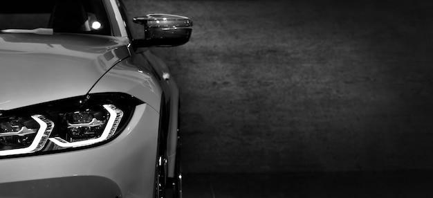 Ledヘッドライトスーパーカーコピースペースの1つの詳細