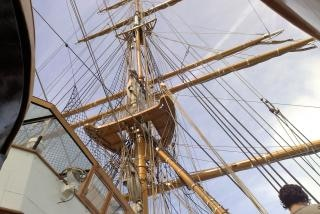 Detail on sailer  sailboat