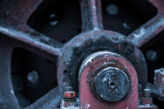 Detail shot of machinery