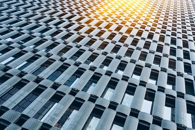 現代都市の高層ビルの詳細ショット