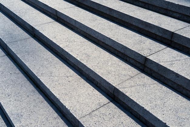 Детальный выстрел из каменной лестницы
