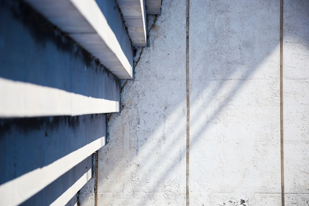 Detail of urban stairs