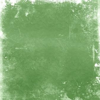 緑の色合いを使用した詳細なグランジスタイルの背景