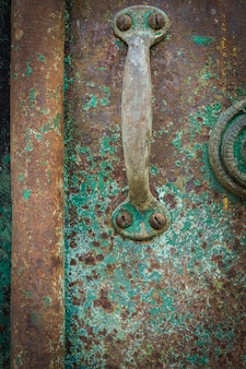 Detailed images that capture the old rusty