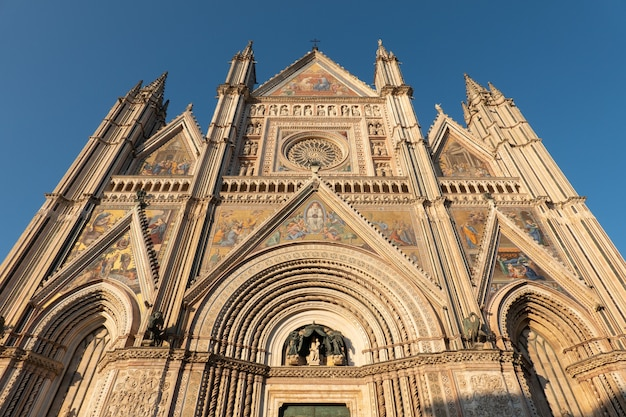 Details of the cathedral of orvieto