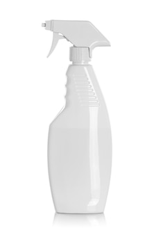 Detergent bottles or chemical cleaning supplies