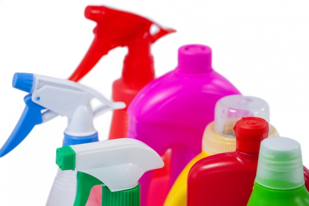 Detergent bottles and containers