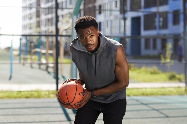 アフリカ系アメリカ人のバスケットボール選手を決定