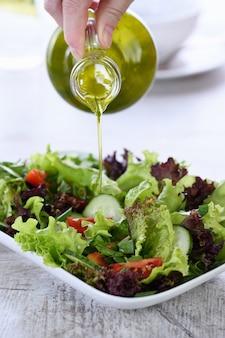 Detox vegetable salad