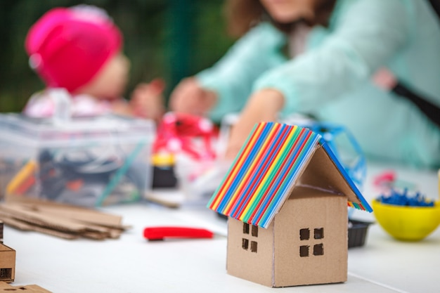 Developing objects for children's creativity