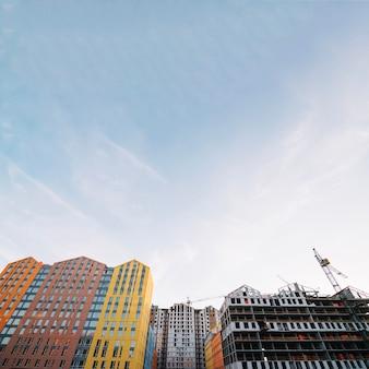 Development of new suburban living complex