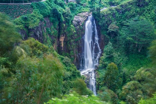 Devon waterfall at hatton, sri lanka