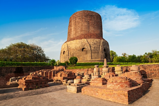 Dhamekh stupa in varanasi