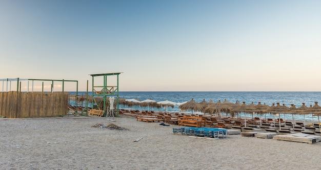 Dhermi beach in albania