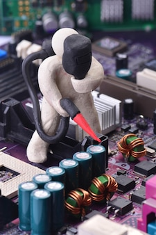 Diagnosis and repair of computer system