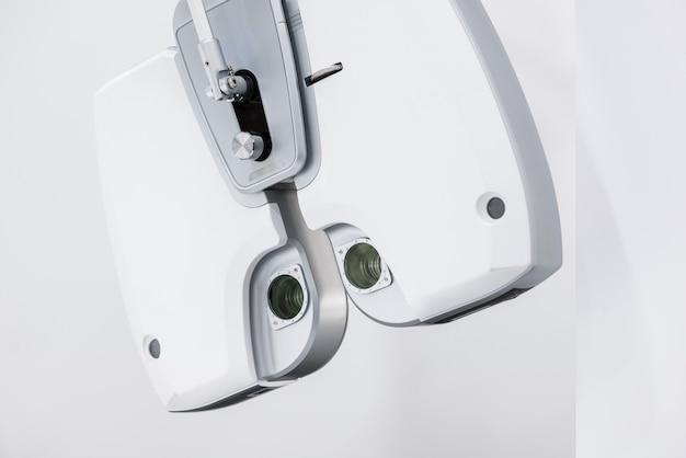 診断眼科機器。眼科病院の最新の医療機器。医学の概念