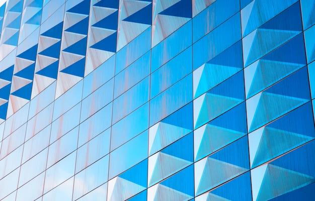斜めのモダンな青い壁のテクスチャ背景hd