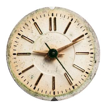 ダイヤルヴィンテージ時計高解像度とディテール