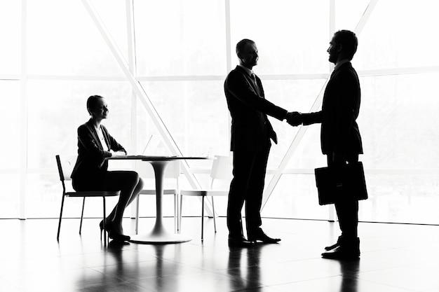 Dialogue between executives