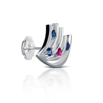 다이아몬드 귀걸이, 흰색 절연