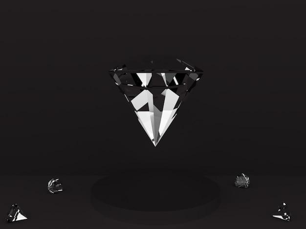 表彰台の上のダイヤモンド