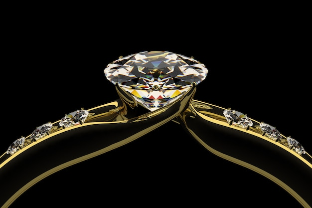 ダイヤの指輪