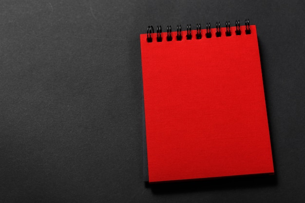 Diary of red color