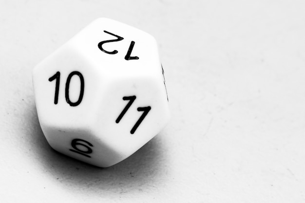 Dice twelve-sided