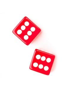 Кубины, обозначающие шесть чисел