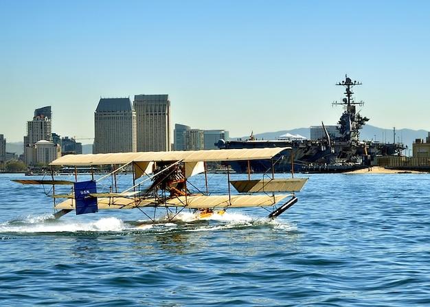 Diego ship california plane airplane san aircraft