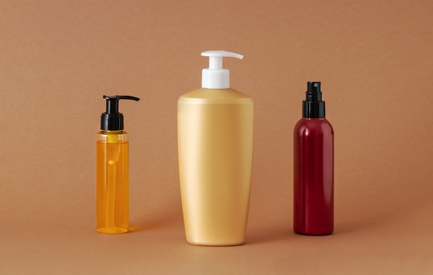 Different blank containers for cosmetics