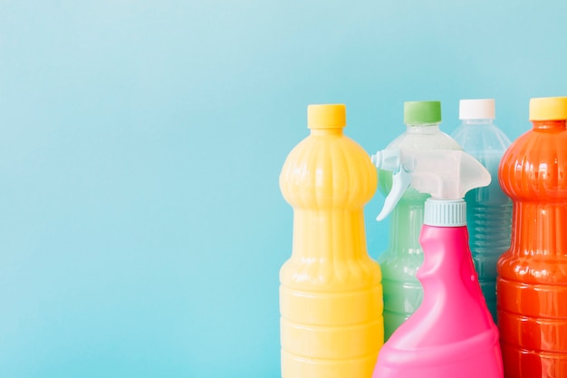 Different cleaning products