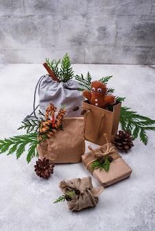 제로 폐기물 친환경 크리스마스 선물 포장에 대한 다양한 아이디어