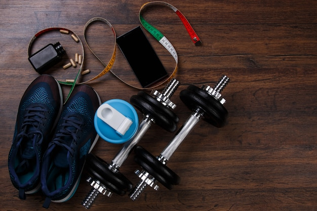 Different items for fitness