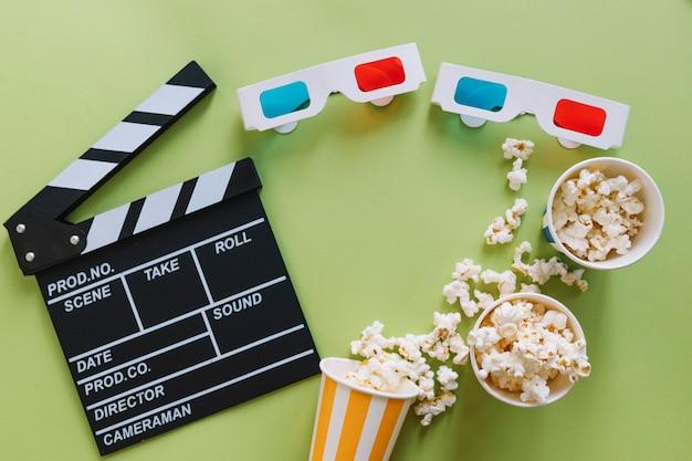Различные объекты фильма