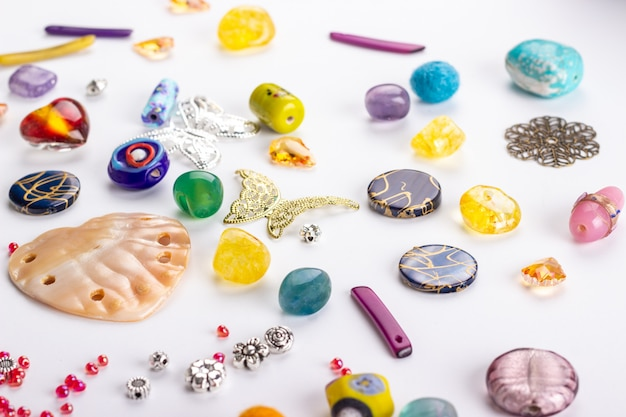 Different shapes of beads