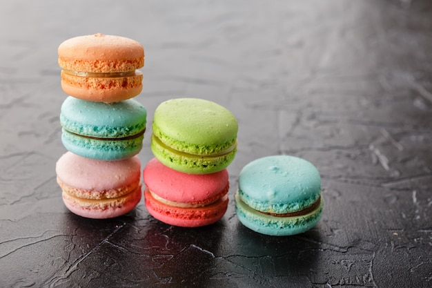 Different types of macaroons