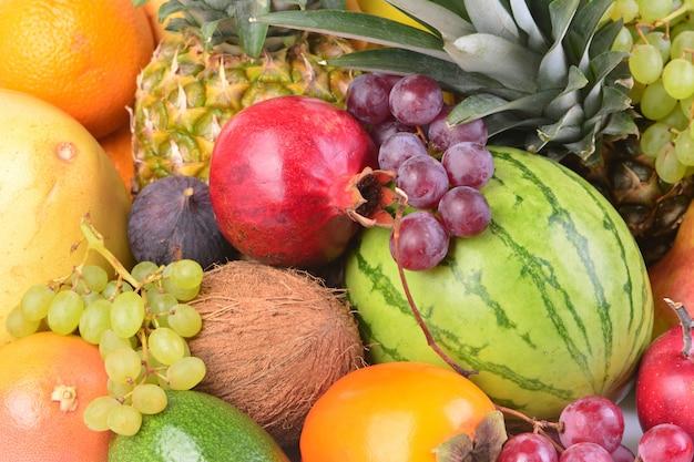 熟した果物の種類