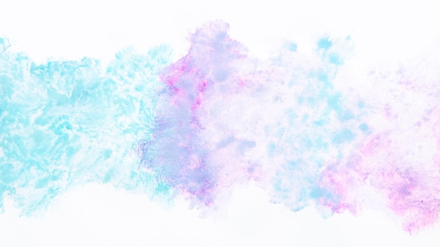 Diffuse cold watercolor patterns