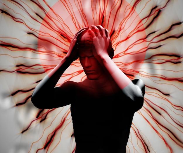 Digital body with headache