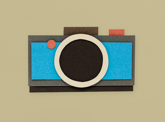 Digital camera shoot photo icon