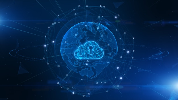 Цифровые облачные вычисления кибербезопасности, защита цифровых сетей передачи данных