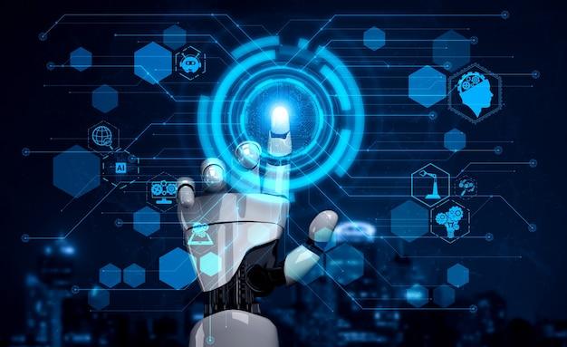 コンピューターの頭脳のためのデジタルデータマイニングと機械学習技術の設計。