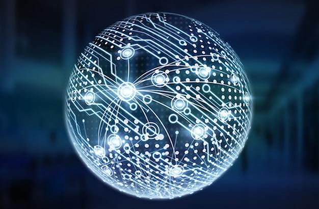 Digital data network interface