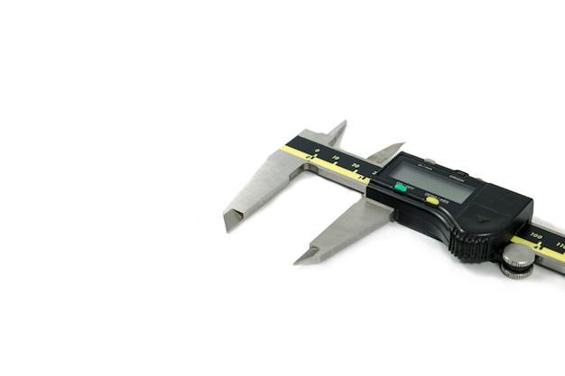 Digital electronic vernier caliper and ruler