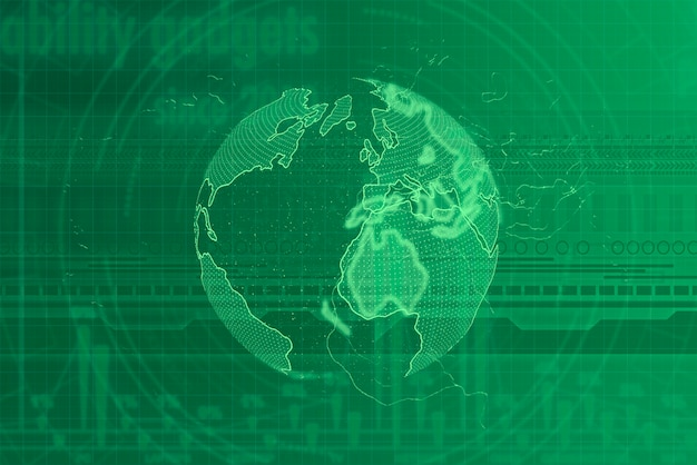 Digital modern futuristic background