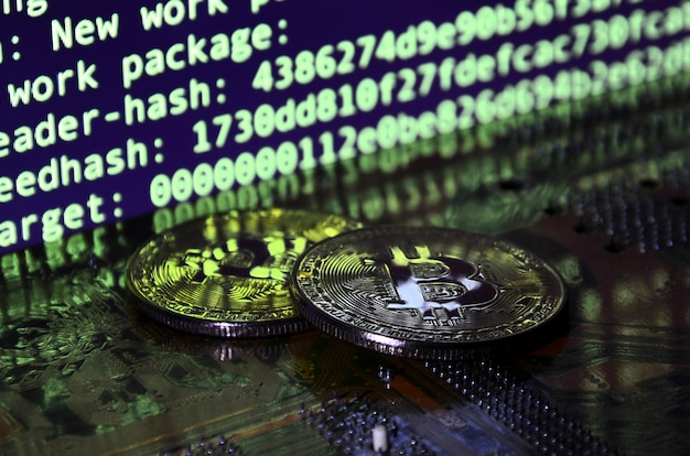 The digital process of cryptocurrency mining by using the gpus