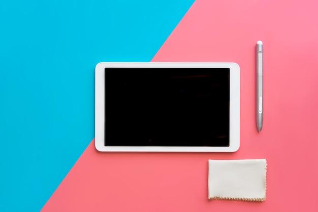 Digital tablet modern concept