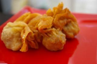 Dim sum dumplings, food